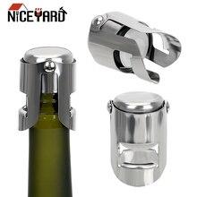 NICEYARD закупорка бутылок крышка винная, пивная бутылка пробковая заглушка из нержавеющей стали для шампанского сверкающая пробка вина затычка для бутылок Инструменты