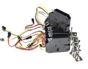 Image 5 - 5 pcs con feedback serratura Elettronica della porta di chiusura 12 V/2A per cabinet serrature/solenoide serrature/cassetto (connettore opzionale)