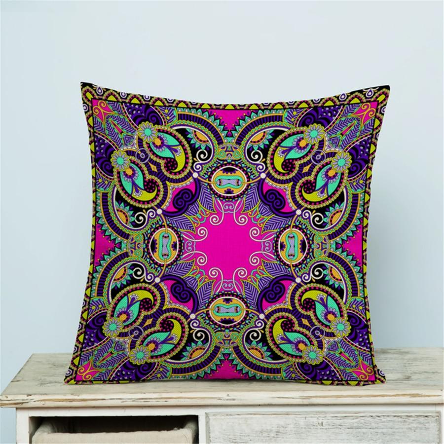 Boheemse Decoratie Voor Home Decor Kussensloop Poef Scandinavische - Thuis textiel