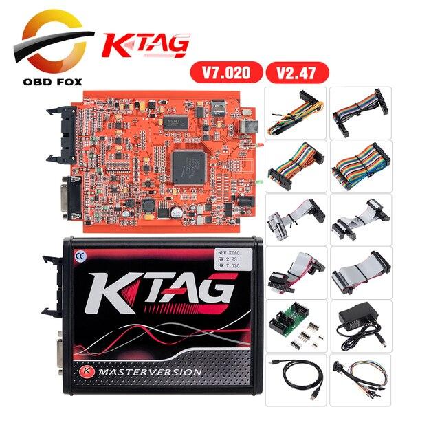 K Tag Ecu Programmering Tool V2.53 Ktag V7.020 Kess V2 5.017 Obd2 Manager Draaien Kit Master Online Eu Rode Kess v2 5.017 Dhl Gratis