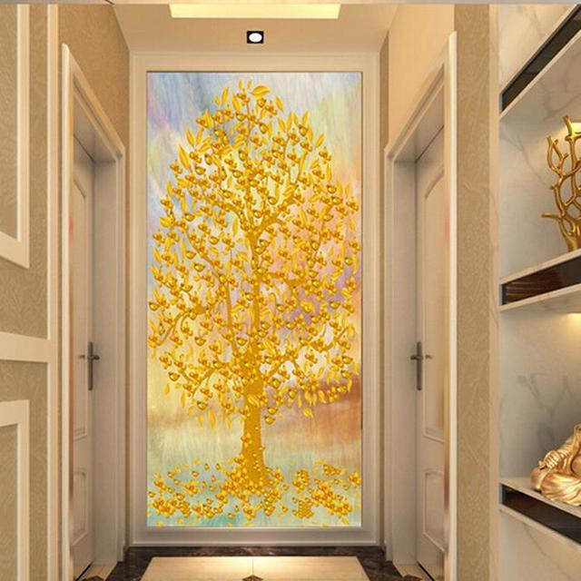 fondo de pantalla mural pasillo pasillo de entrada de papel tapiz pintura decorativa versin vertical