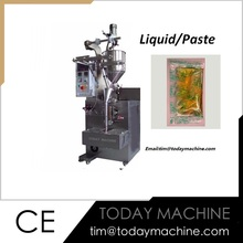 Automatic Date Paste Packing Machine For Liquid Packaging