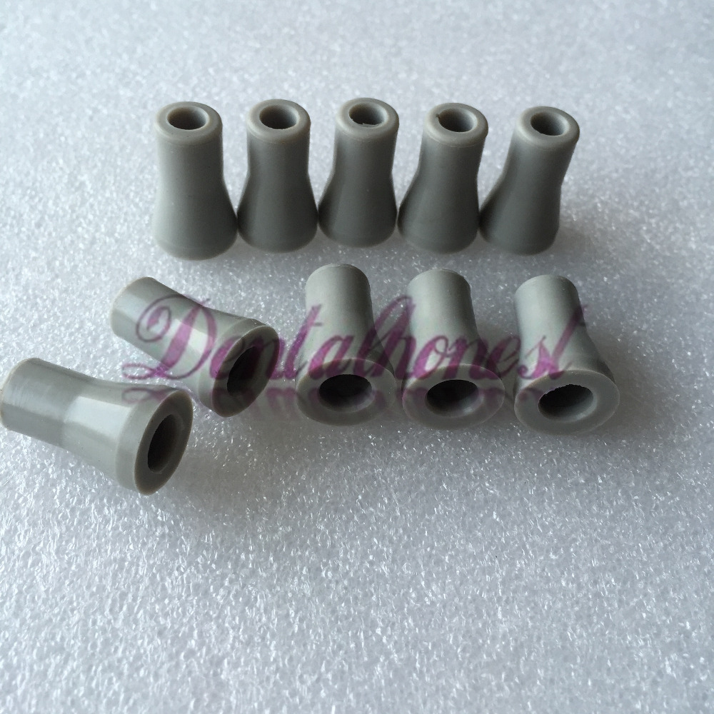 10pcs Dental SE Saliva Ejector  Rubber Valve Snap Tip Adapter Replacement