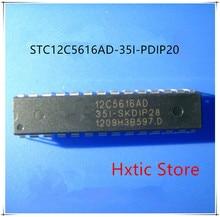10PCS/LOT STC12C5616AD-35I-PDIP20 STC12C5616AD 12C5616AD 35I-PDIP20 NEW ORIGINAL