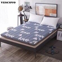 Colchón de esponja de 8cm de grosor, cama individual plegable, tatami doble, suelo, colchoneta para dormir