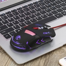 Hot H400 USB Wired Optical Gaming Game Mouse Mice 5500 DPI For Laptop PC #K400Y# DropShip