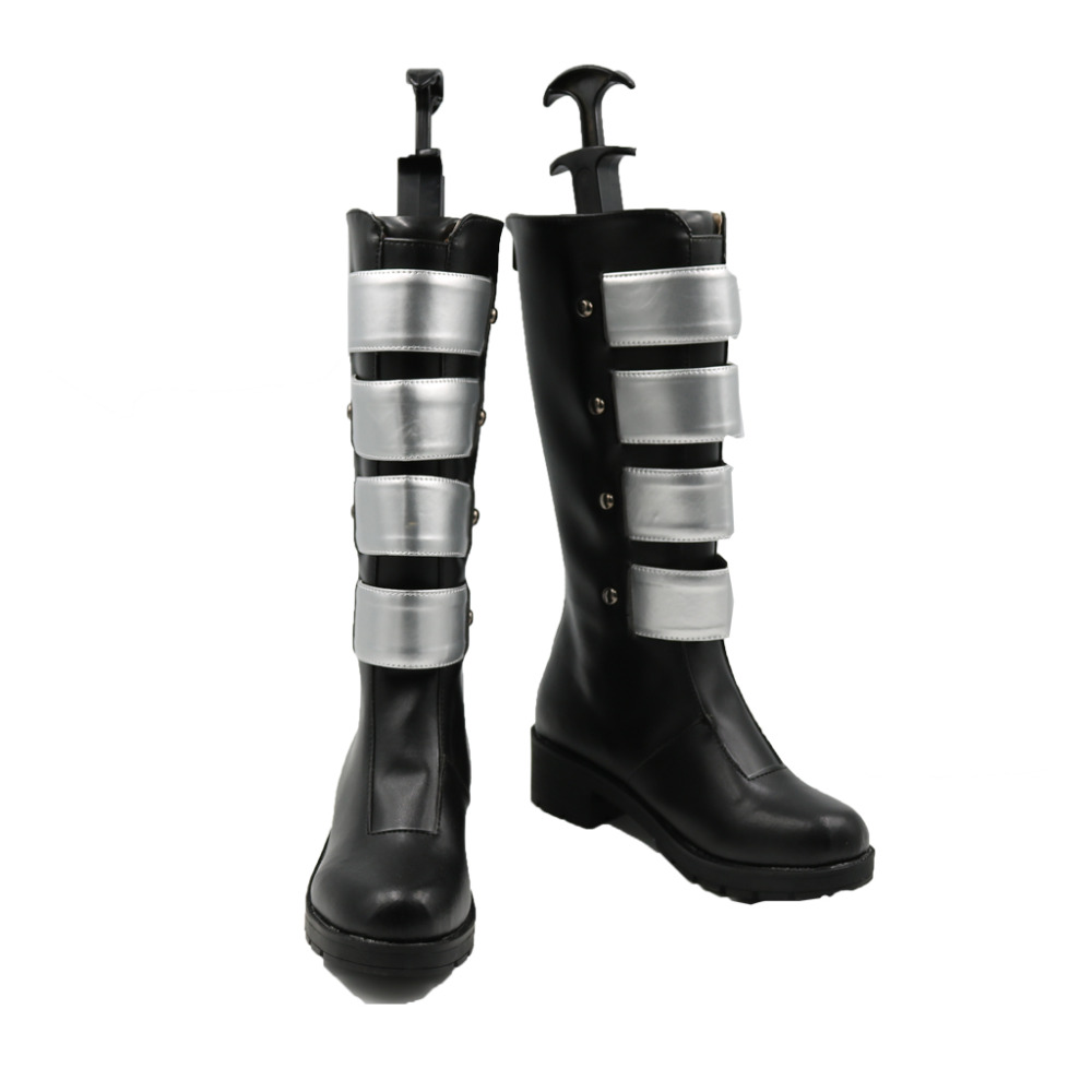The New 52 Batman Harley Quinn Cosplay Shoes Boots Superhero Halloween Carnival Party Costume Accessories For Men