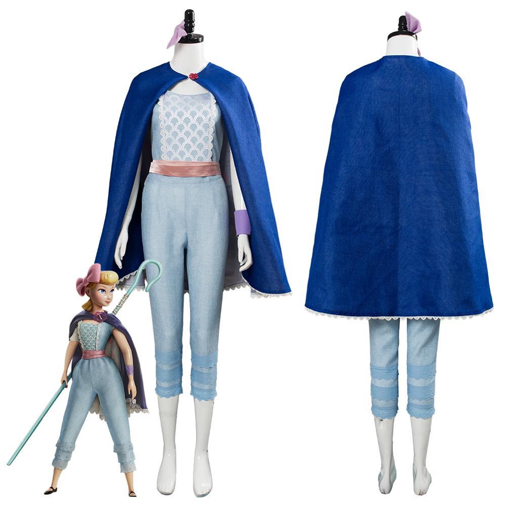 Anime Film Spielzeug Cosplay Geschichte 4 Bo Peep Cosplay Kostüm Unisex Erwachsene Outfit Volle Sets Nach Maß Für Halloween Karneval party