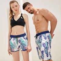 Liva Girl Couple Swimwear Board Shorts Women/Men Board shorts Surf Swimming Shorts Swim Trunks Beach Sports Suit Quick F2