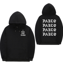 I Feel Like Paul Pablo Kanye West sweat homme hoodies men Sw