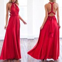 Women Multi Way Convertible Dress Bridesmaid Maxi Full Length Long Party Dresses
