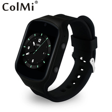ColMi 2016 Smart Uhr SOS Alarm MTK6580 Herzfrequenz Bluetooth Schließen Apple Telefon Für iphone IOS Android Smartwatch
