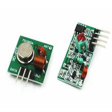 XY-MK-5V / XY-FST 433Mhz Rf Transmitter and Receiver Link Kit for Arduino/Arm/McU/Raspberry pi(China)