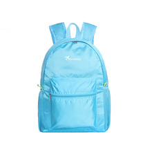 2018 Portable Fashion Casual Travel Backpacks Zipper Soild Nylon Back Pack Daily Traveling Women Men Shoulder