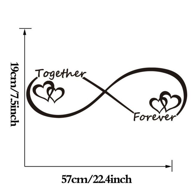 LOVE Heart Together Forever