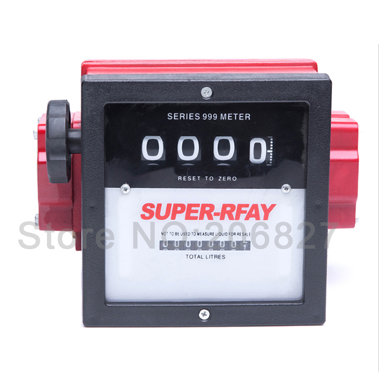YYQ-150-40 Mechanical Fuel Oil Flow Meter Diesel Fuel Flow Meter