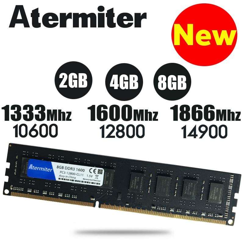 Neue 8 GB DDR3 PC3-10600 1333 MHz Für Desktop PC DIMM Speicher RAM 240 pins (Für intel amd) voll kompatibel System Hohe Kompatibel