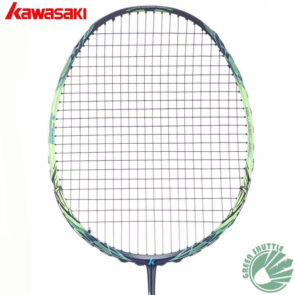 2019 Kawasaki Spider 9900II 7200II Badminton Racket Enhanced Blade Frame  Badminton Racket Woven Technology Raquete
