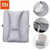 Xiaomi 8H Lumbar Cushion Massager Soft Memory Foam Pillow Protect Lumbar For Office Car Relax Rest Massage Health Care Tool
