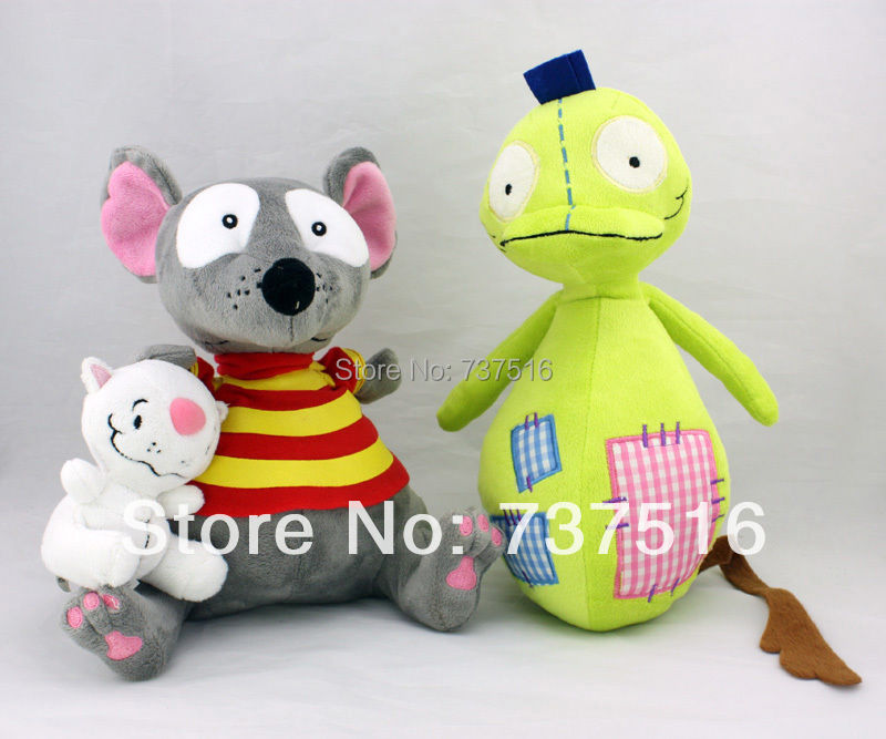 """New 9"""" TOOPY And 4"""" BINOO And 12"""" PATCHY PATCH Set Stuffed Animals & Plush Soft Toys"""