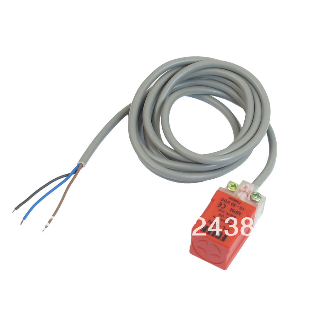PL 05P DC 10V 30V 200mA 3 Wire Type NPN NO 5mm Detector Inductive ...