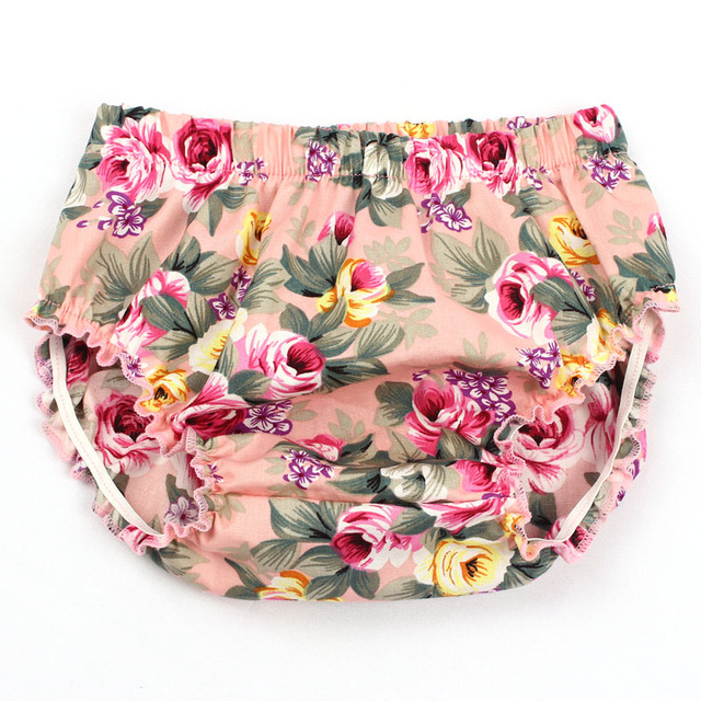 Floral Baby Shorts