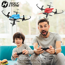 Holy Stone HS177 Dron Battle RC Вертолет RTF Quadcopter Altitude Hold 3D Flip Безголовый мини-дрон Easy Fly для начинающих 2 шт.