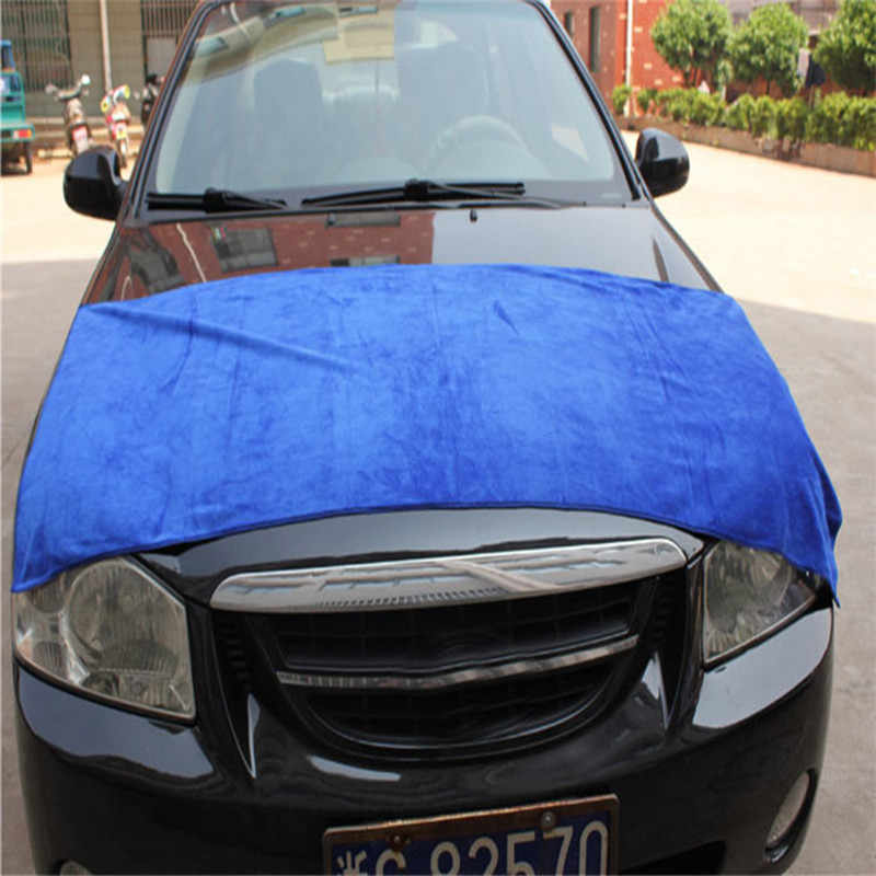 Cleaning Towel 1pcs 60*160cm Soft Microfiber Car Auto Wash Dry Clean Polish Cloth dyproship 19M7