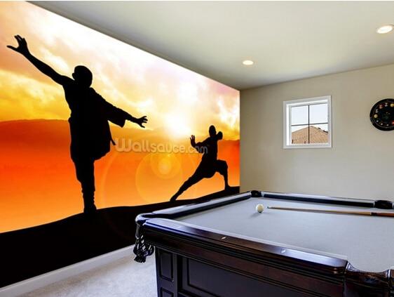 Aliexpress Com Custom Art Wallpaper Martial Arts Photo