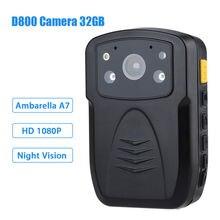 Бесплатная Доставка! Оригинальный Полный HD 1080 P многофункциональный Для Ношения на Теле Полиции ИК Ночного Видения 32 ГБ Полиции камера Полиции Тела Камеры
