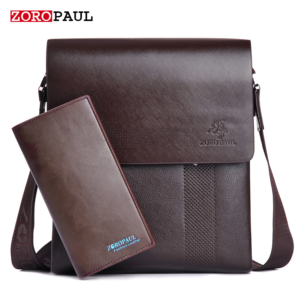 ZOROPAUL New Arrival Fashion Business Leather Mens