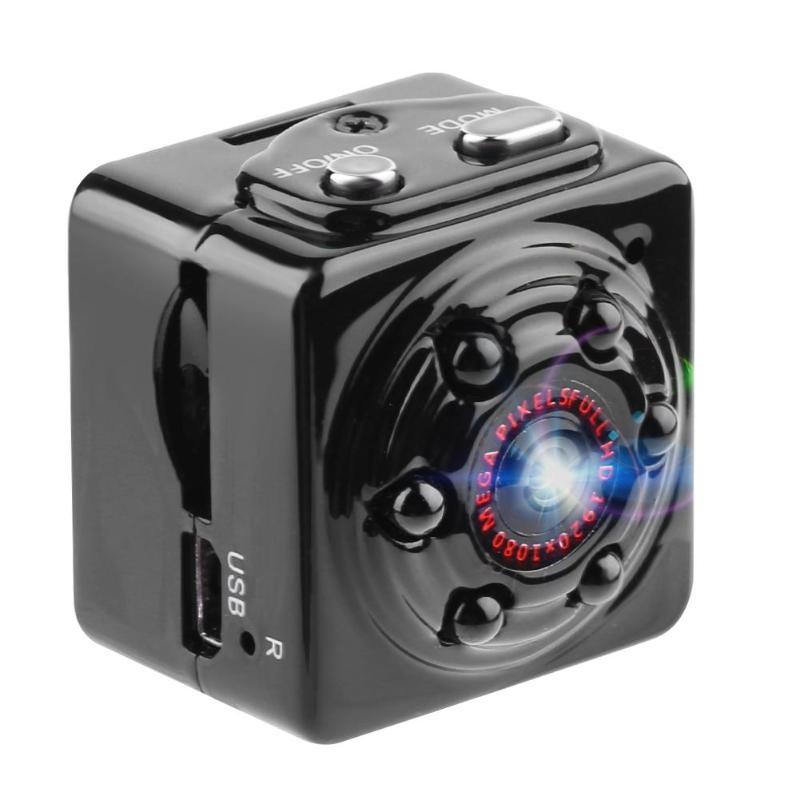 SQ9 Mini Macchina Fotografica 1080 P HD Portatile Sensore di Movimento di Registrazione Videocamera IR Visione Notturna Dell'automobile DVR Home Video Recorder Micro Camera DV