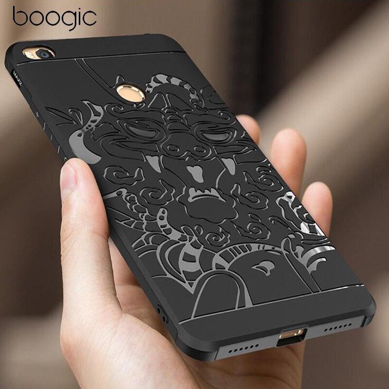 Pour Xiaomi mi max 2 cas De Luxe 3D Protecter Cas Pour Xiaomi max mix Silicone Mat Anti-frapper Cas Pour Xiaomi max 2 de Couverture Arrière