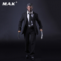 X man Wolverine Logan 1/6 Scale Business Suit Clothes Set Claws for 12 Inches Action Figures Dolls Bodies