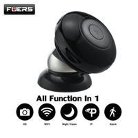 Fuers C2 Mini Camera HD 720P IP Camera Wireless Wearable Mini Camera Motion Detector Baby Monitor
