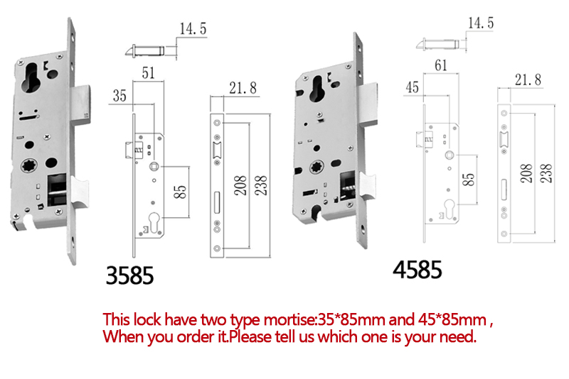 New mortise