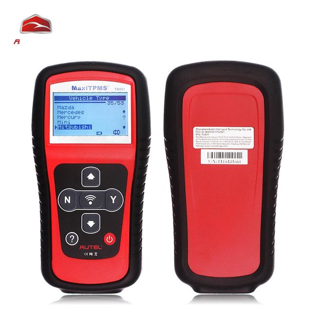 Herramienta de Diagnóstico Del Coche de Autel MaxiTPMS TS401 de Autel Escáner de Cheques Bloqueo A Distancia Interpretar Los Datos de Cobertura de Sensor Sin Igual