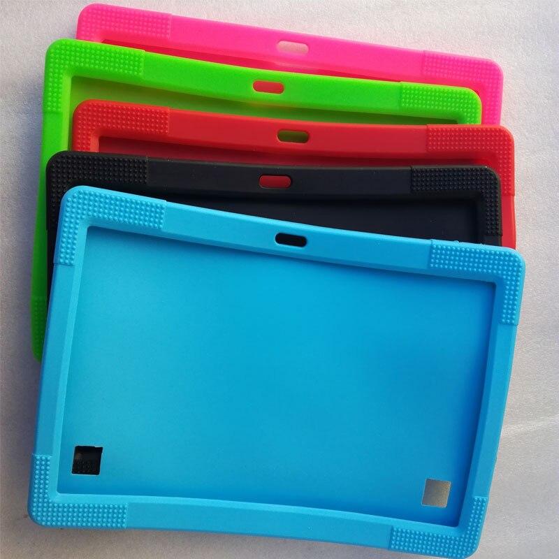 Myslc étui En Silicone pour DONGPAD K107 Y900 T900 BK109 K900 MTK8752 Octa Core 10.1 pouce 4G FDD LTE Tablet