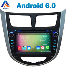 Octa Core Cortex A53 2GB+32GB 7″ Android 6.0.1 Car DVD Radio Stereo GPS Navigation For Hyundai Verna Accent Solaris I25 DAB+ RDS