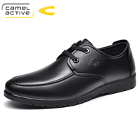 Camel Active New Men Dress Shoes Genuine Leather Men Shoes Lace-Up Luxury Fashion Wedding Shoes Men Oxford Shoes 18163