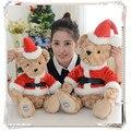 Santa claus kawaii felpa ty peluche bob esponja pokemon juguetes de peluche para los niños regalo de navidad juguetes de peluche esbirros doll