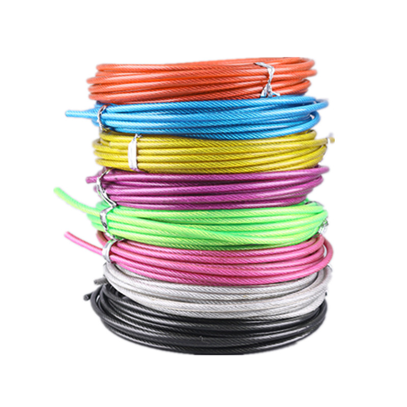 3 M Spare Rope Replaceable Wire Cable Speed Jump Ropes Crossfit Workout Skipping Rope Training Fitness Equipments