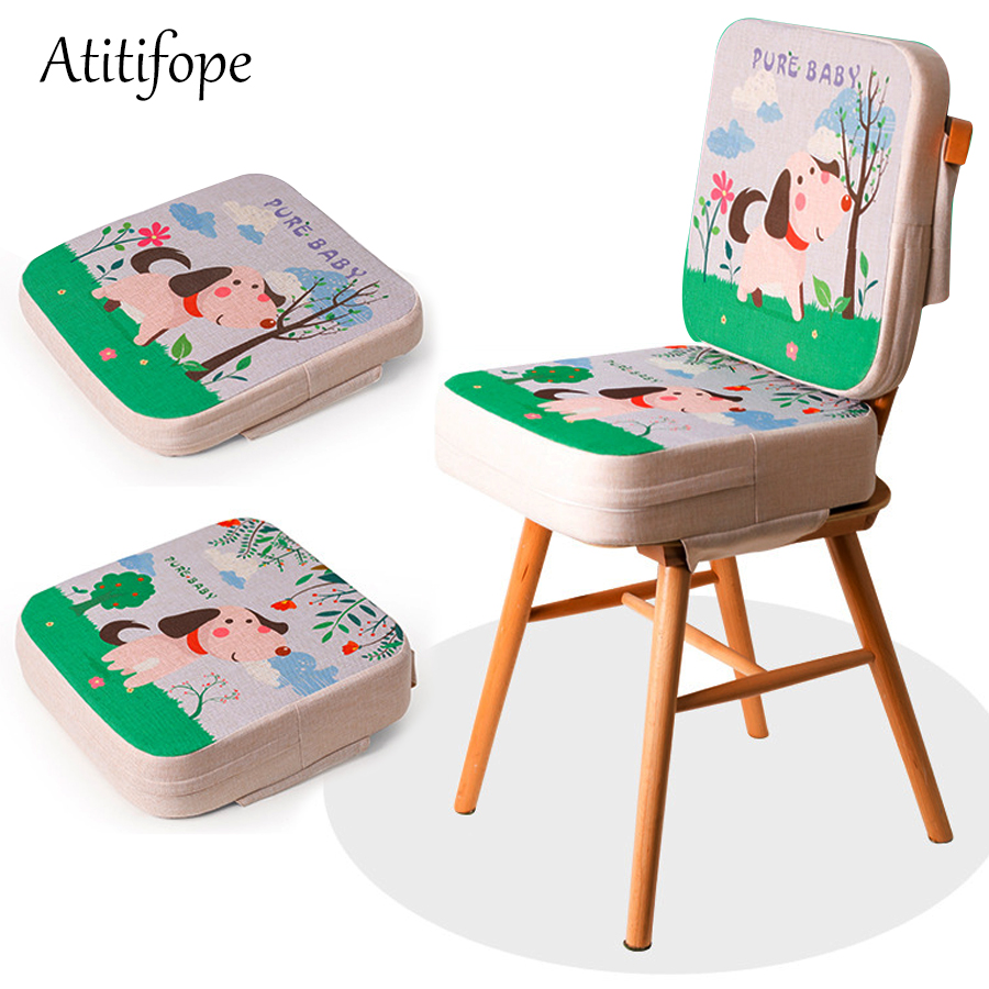 Chair Increasing Cushion Baby Toddler Kids Infant Portable Dismountable Adjustable Highchair Booster Washable Chair Seat Pads