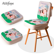 Chair Increasing Cushion Baby Toddler Kids Infant Portable Dismountable Adjustable Highchair Booster Washable Chair Seat Pads baby kids children high chair cushion cover booster mats pads feeding chair cushion stroller seat cushion