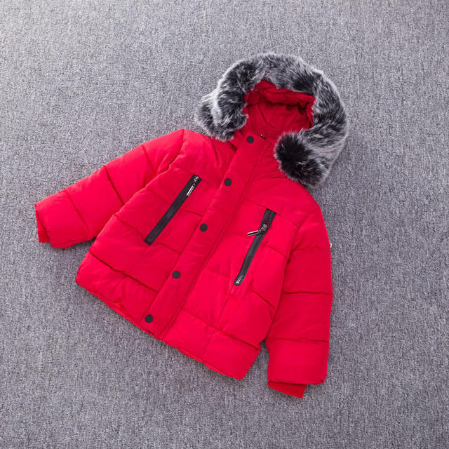 Bubble Jacket with Fur Hoodie