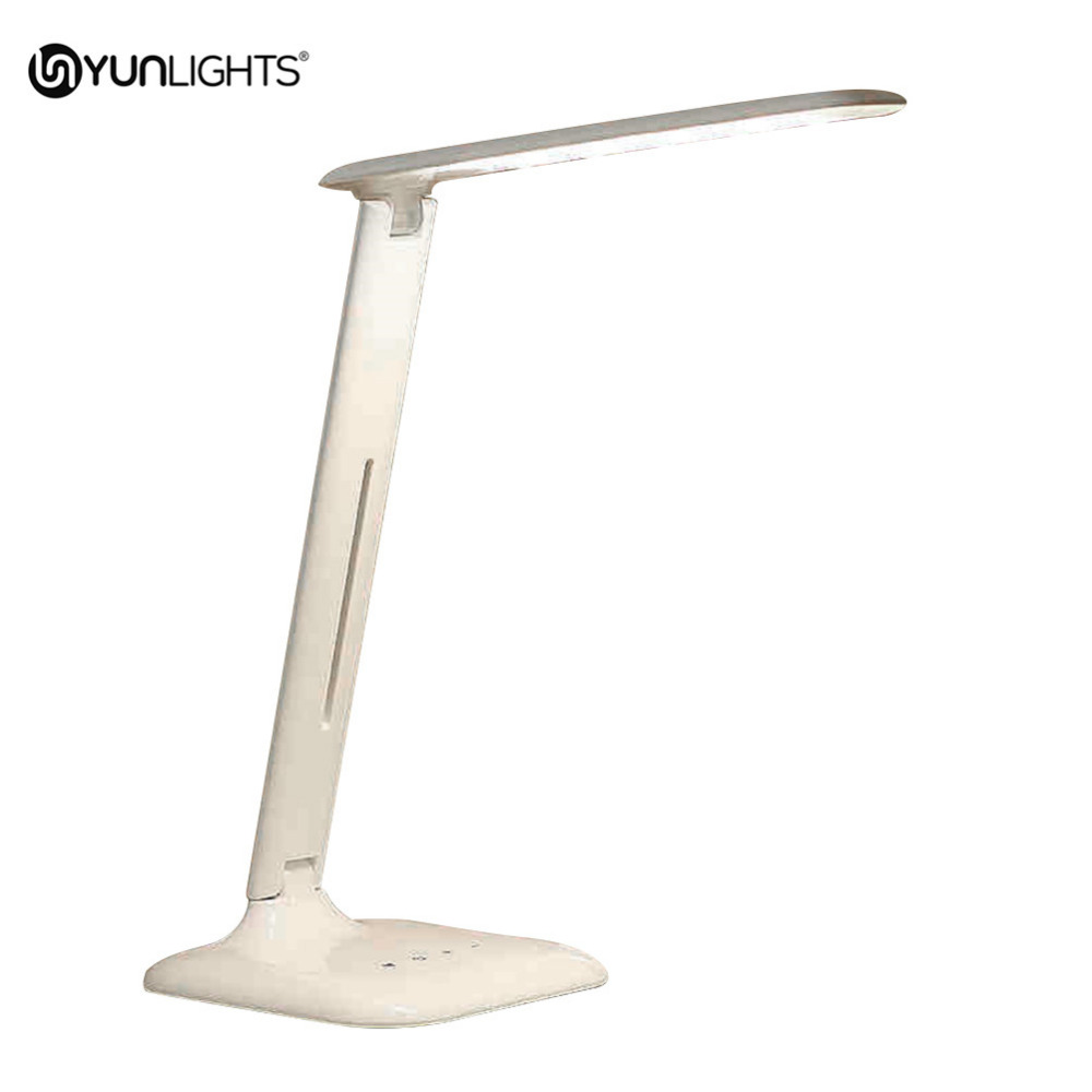 yunlights foldable led touch control dimming table lamp reading light eye protection desk light. Black Bedroom Furniture Sets. Home Design Ideas