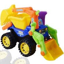 Inertiële auto dumper truck Engineering voertuig pak graafmachine tractor speelgoed Opgraving machines Speelgoed auto voor kinderen Gift 1 STKS