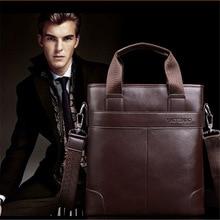Fashion Pu Leather Men's Messenger Bags Man Portfolio Office Bag Quality Travel Shoulder Handbag For Man D1078