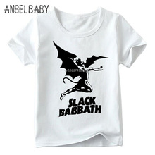 Black Sabbath Print Kids T-shirt