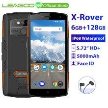"LEAGOO X-Rover IP68 Waterproof Smartphone 5.72"" 6GB 128"